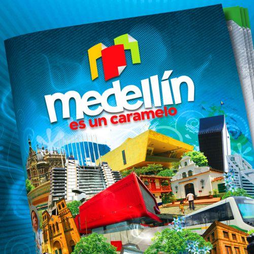 Diseño Álbum Medellín es un Caramelo