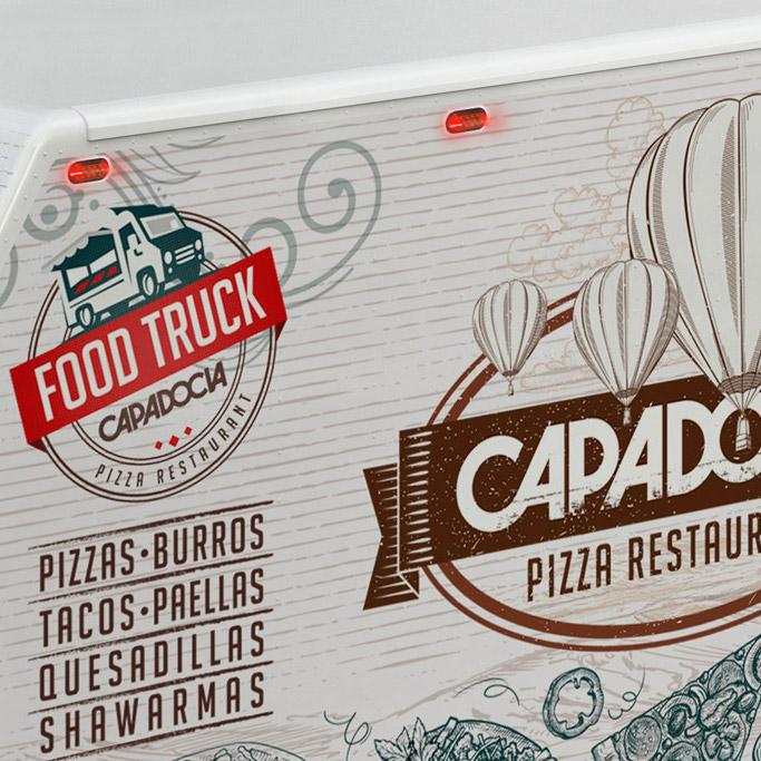 Branding Food Truk Capadocia