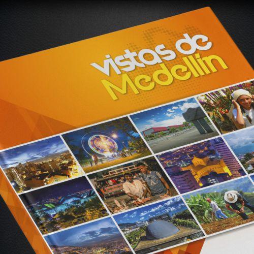 Diseño Libro Vistas de Medellín