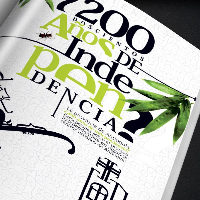 Diseño de Afiche – Antioquia 200 años