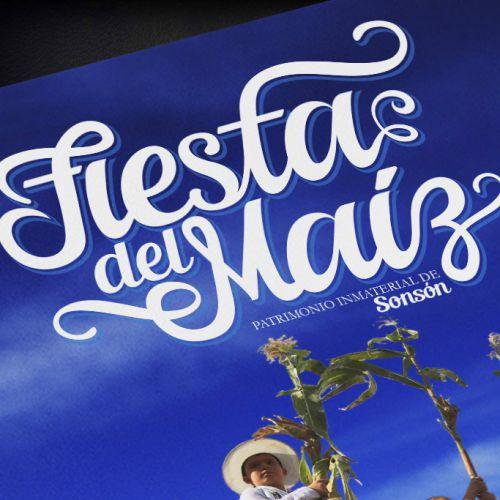 Diseño Libro Fiesta del Maíz