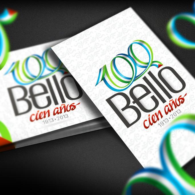 Diseño de Logosímbolo Centenario de Bello
