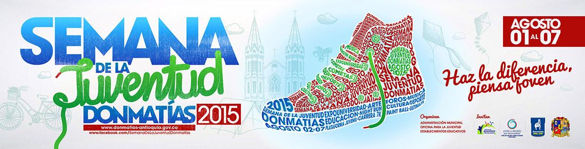 LONA HORIZONTAL SEMAMA JUVENTUD DONMATIAS 2015