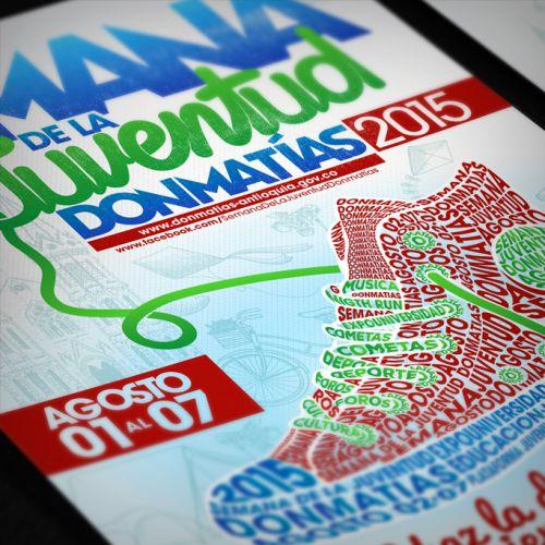 Imagen tipográfica – Semana de la Juventud Donmatías