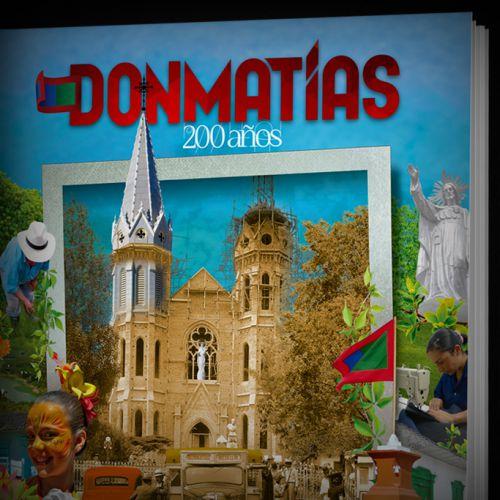 Diseño de Álbum Donmatías 200 años
