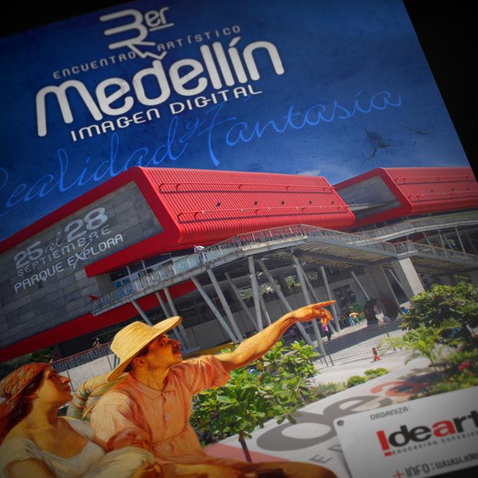 Afiche Medellín Imagen Digital