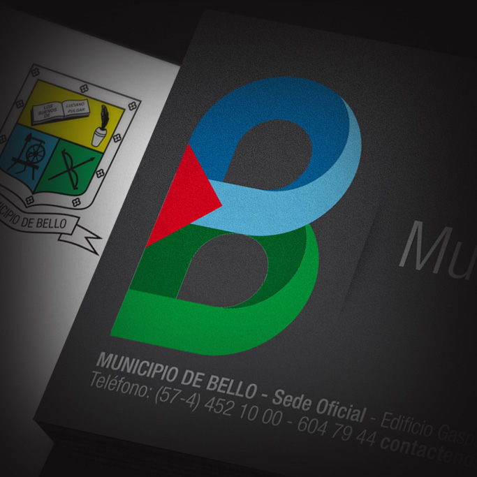 Identidad Corporativa Municipio de Bello
