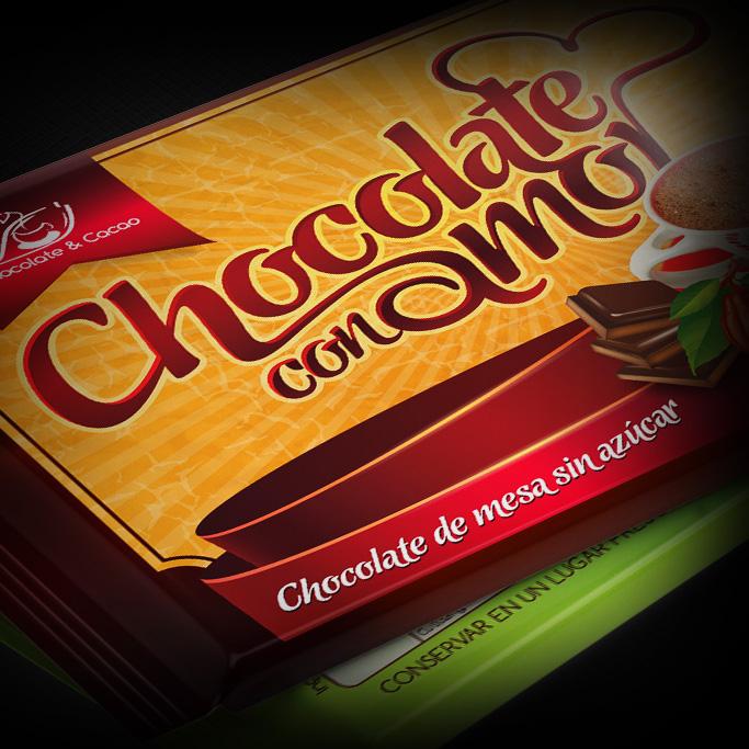 Branding empaque de chocolate