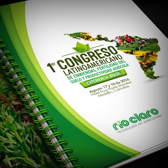 Diseño de Imagen para Congreso Latinoamericano