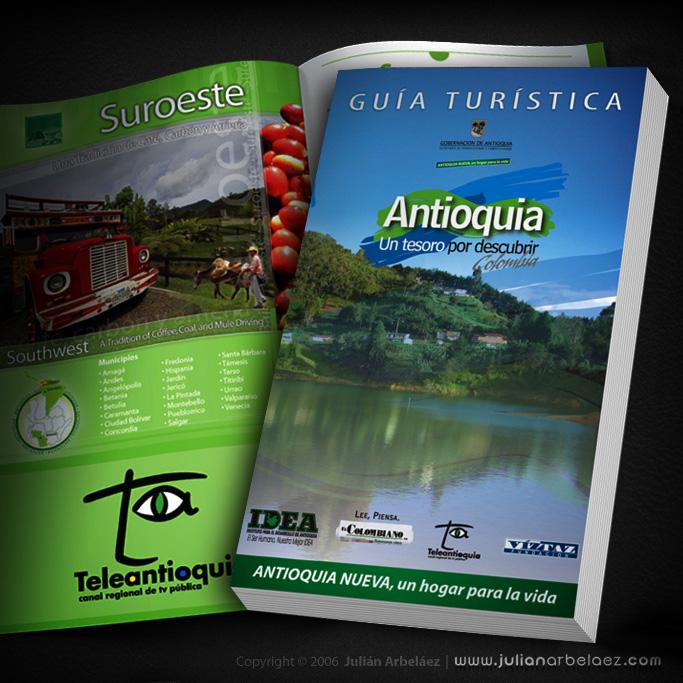 DISEÑO Y DIAGRAMACIÓN GUIA DE ANTIOQUIA