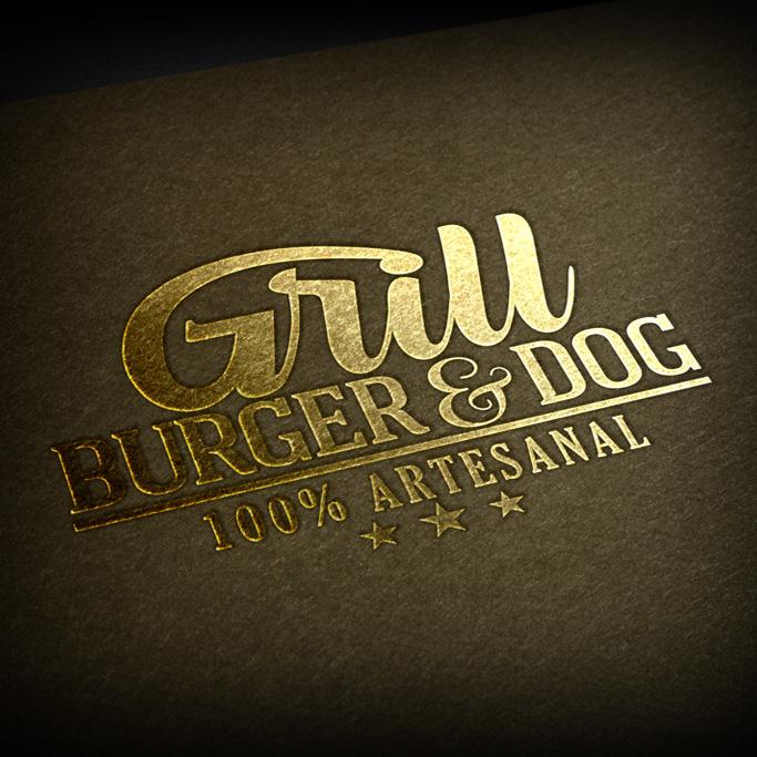 Identidad Corporativa Grill Burger&Dogagus