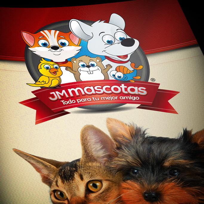 Identidad Corporativa JM Mascotas
