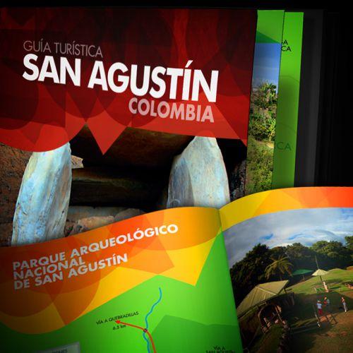 Diseño y Diagramación Guía Turística de San Agustín