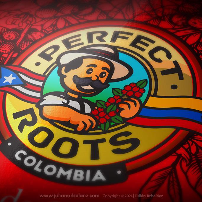 Branding e identidad empaque de café