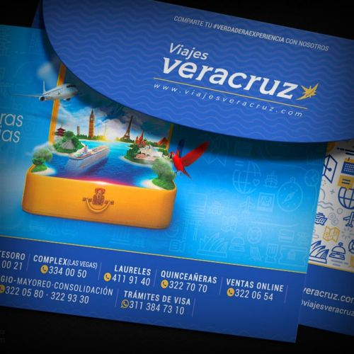 Identidad Corporativa Viajes Veracruz